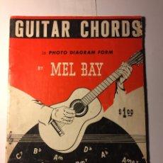 Revistas de música: LIBRO DE ACORDES DE GUITARRA MEL BAY. Lote 182740481