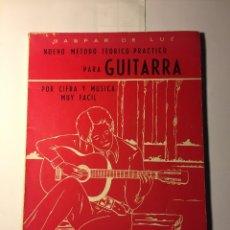 Revistas de música: NUEVO METODO TEORICO-PRACTICO PARA GUITARRA. Lote 182740506