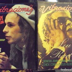 Revistas de música: VIBRACIONES - COMPLETA. 92 EJ. + 2 ESPECIALES. Lote 183078255