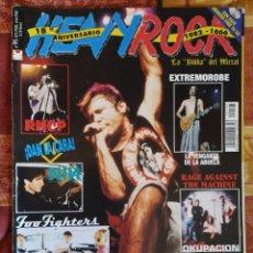 Revistas de música: REVISTA HEAVY ROCK Nº 195 (1999) IRON MAIDEN, EXTREMODURO, NINE INCH NAILS... SIN POSTERS. Lote 183083257
