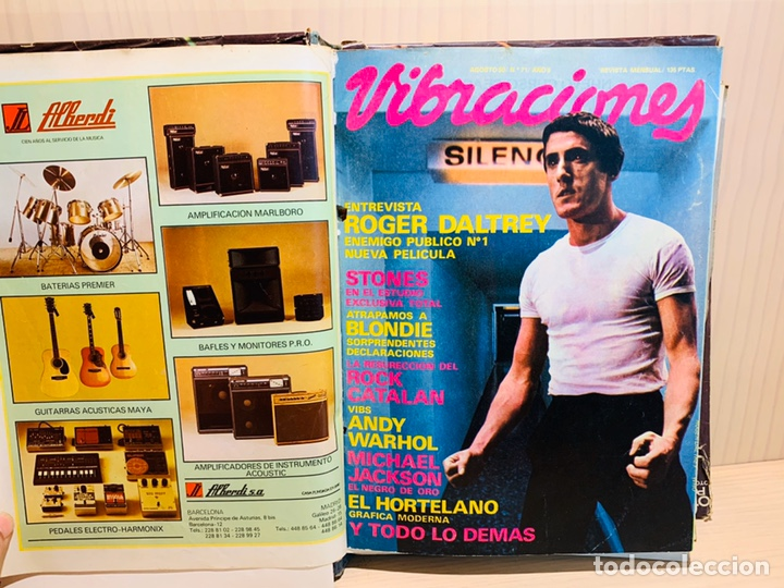 Revistas de música: LOTE DE NUEVE REVISTAS VIBRACIONES AÑO 1980 - Foto 4 - 183172117