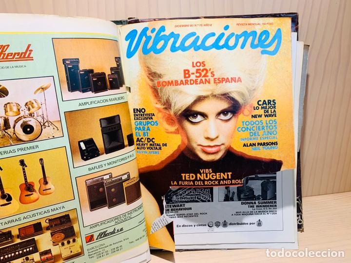 Revistas de música: LOTE DE NUEVE REVISTAS VIBRACIONES AÑO 1980 - Foto 8 - 183172117