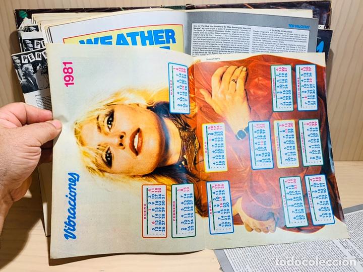 Revistas de música: LOTE DE NUEVE REVISTAS VIBRACIONES AÑO 1980 - Foto 9 - 183172117