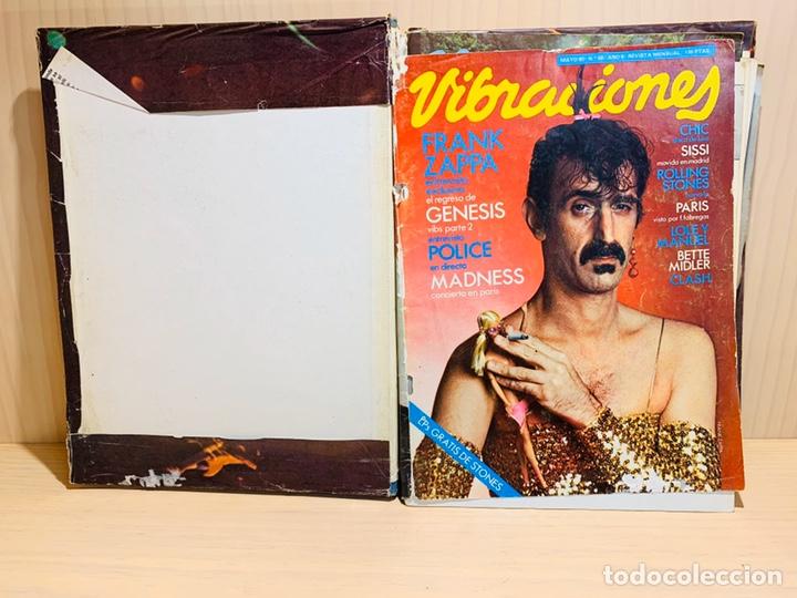 Revistas de música: LOTE DE NUEVE REVISTAS VIBRACIONES AÑO 1980 - Foto 2 - 183172117