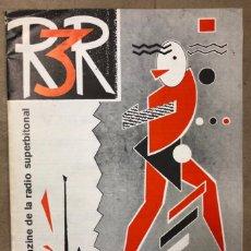 Revistas de música: R3R, EL FANZINE DE RADIO 3 (1983). ORIGINAL. EL ZURDO, ALASKA, JESÚS ORDOVAS, ANA TORRENT. Lote 171970558