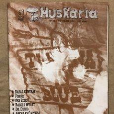 Revistas de música: MUSKARIA Nº 29 (1986). TIJUANA IN BLUE, DR. DESEO, DUNCAN DHU, ZER BIZIO?, LEIZE, ANCHA ES CASTILLA,. Lote 183685706