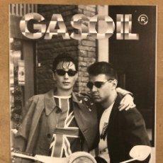 Revistas de música: GASOIL EL CARBURANTE DE LAS ESTRELLAS N°7 (MADRID, 1984) FANZINE ORIGINAL DISCOS, MODA, COMIC. Lote 183693057