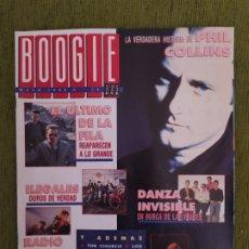 Revistas de música: REVISTA BOOGIE N°29. MAYO DE 1990. PHIL COLLINS, DANZA INVISIBLE.. Lote 183963347