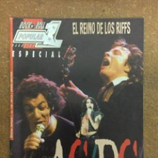 Revistas de música: POPULAR 1 ESPECIAL Nº 158. AC/DC. Lote 184124206