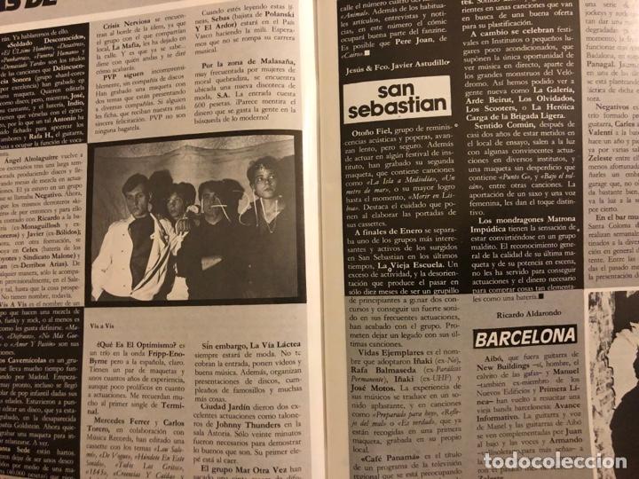 Revistas de música: ROCK IN' N° 3 (ABRIL MAYO 1985). NOTICIAS MOVIDA, THE FALL, ROCK & ROLL, ACOLLA, NOH, LA DAMA SE ESC - Foto 3 - 184145313