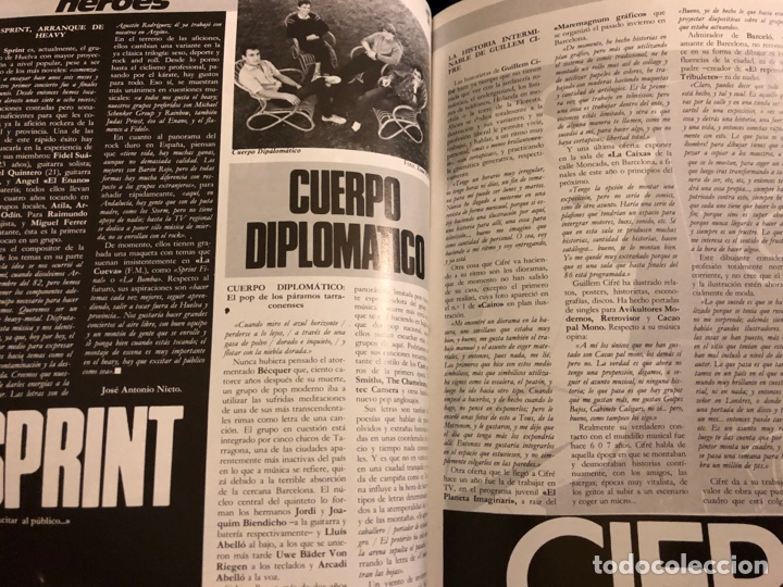 Revistas de música: ROCK IN' N° 3 (ABRIL MAYO 1985). NOTICIAS MOVIDA, THE FALL, ROCK & ROLL, ACOLLA, NOH, LA DAMA SE ESC - Foto 4 - 184145313