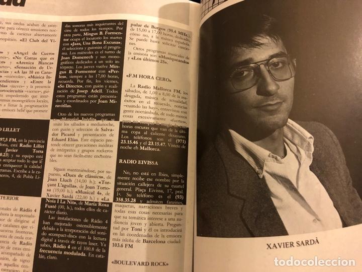 Revistas de música: ROCK IN' N° 3 (ABRIL MAYO 1985). NOTICIAS MOVIDA, THE FALL, ROCK & ROLL, ACOLLA, NOH, LA DAMA SE ESC - Foto 6 - 184145313