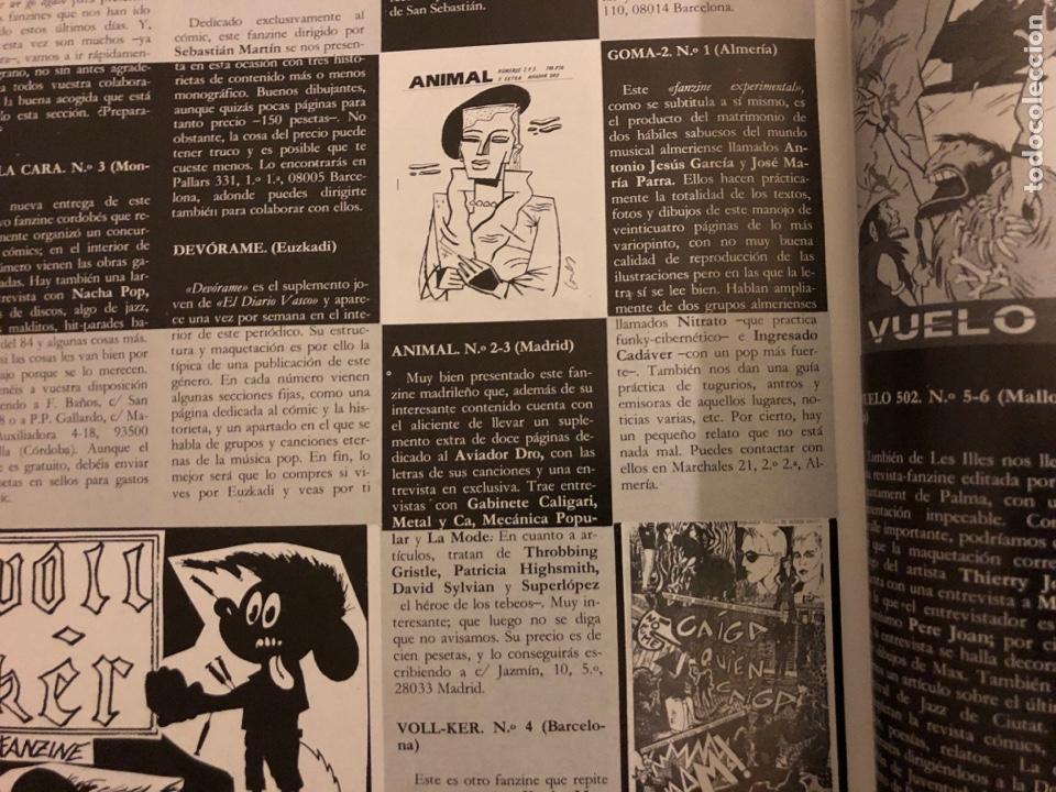 Revistas de música: ROCK IN' N° 3 (ABRIL MAYO 1985). NOTICIAS MOVIDA, THE FALL, ROCK & ROLL, ACOLLA, NOH, LA DAMA SE ESC - Foto 7 - 184145313