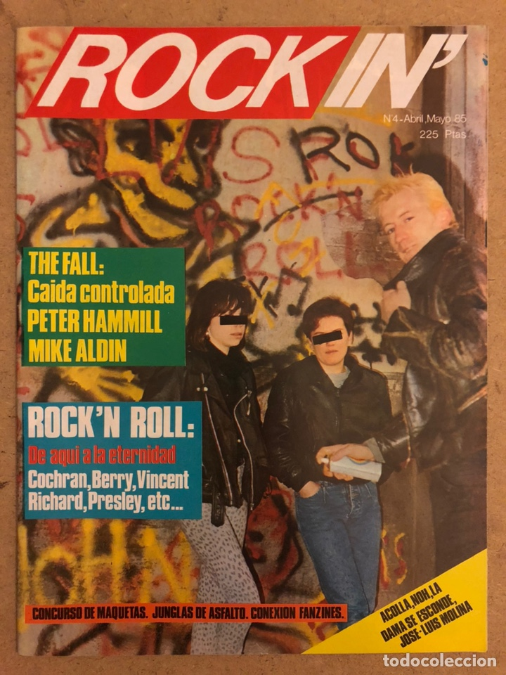 ROCK IN' N° 3 (ABRIL MAYO 1985). NOTICIAS MOVIDA, THE FALL, ROCK & ROLL, ACOLLA, NOH, LA DAMA SE ESC (Música - Revistas, Manuales y Cursos)