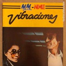 Revistas de música: VIBRACIONES N° 90 (1982). DOSSIER 90: LENNON, WHO, FERRY, JAGGER, ZAPPA, ENO., DEPECHE MODE, ADAM AN. Lote 184151082