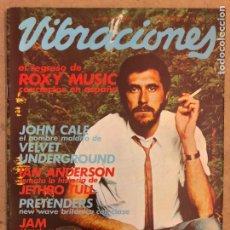 Revistas de música: VIBRACIONES N° 70 (1980). VIBS: COOL WAVE, ROXY MUSIC, JOHN CALE, THE JAM, PRETENDERS, GRETA, IAN AN. Lote 184151887