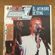 Revistas de música: POPULAR 1 Nº 238 - STING, COVERDALE / PAGE, SUICIDAL TENDENCIES... -. Lote 184176073