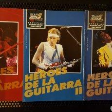 Revistas de música: LOTE REVISTAS - POPULAR 1 - COLECCION ESPECIAL HEROES DE LA GUITARRA 1, 2 Y 3 (71, 87 Y 116). Lote 184302573