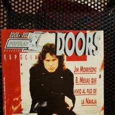 Revistas de música: REVISTA POPULAR 1 Nº 124 ESPECIAL - THE DOORS, JIM MORRISON FOTOS, BIOGRAFIAS, DISCOS (CON POSTER). Lote 184304370