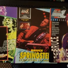 Revistas de música: LOTE REVISTAS - POPULAR 1 - ESPECIAL 69, 107 Y 134 - BRUCE SPRINGSTEEN. Lote 184305720