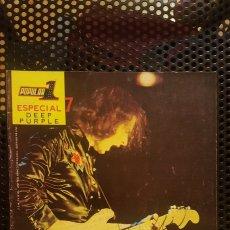 Revistas de música: REVISTA - POPULAR 1 - COLECCCION ESPECIAL DEEP PURPLE Nº 7 - SIN POSTER - SELLO DELEGACION. Lote 184362433