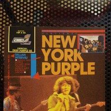 Revistas de música: REVISTA - POPULAR 1 - COLECCION ESPECIAL Nº 68 - DEEP PURPLE '85 - CON POSTER. Lote 184364002