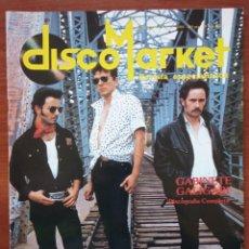 Revistas de música: DISCO MARKET Nº 4, JUNIO 1988. GABINETE CALIGARI, RAMONCÍN, MORRISEY,VENENO, REM, CHICO BUHARQUE. Lote 184395330