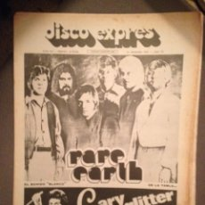 Revistas de música: DISCO EXPRES 211 : RARE EARTH,GARY GLITTER,JORGE CAFRUNE,OSIBISA,ISAAC HAYES,KING CRIMSON. Lote 184528381