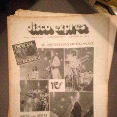 Revistas de música: DISCO EXPRES 191 RAY CHARLES,YES, ARAXES,ROXY MUSIC, MANDRILL, CECILIA ,ELTON JOHN EN MADRID. Lote 184536417