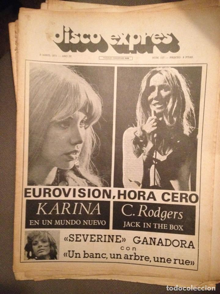 DISCO EXPRES 117: KARINA,FLEETWOOD MAC,MARMALADE,GEORGES MOUSTAKI,JOAN BAEZ, PAUL MCCARTNEY (Música - Revistas, Manuales y Cursos)
