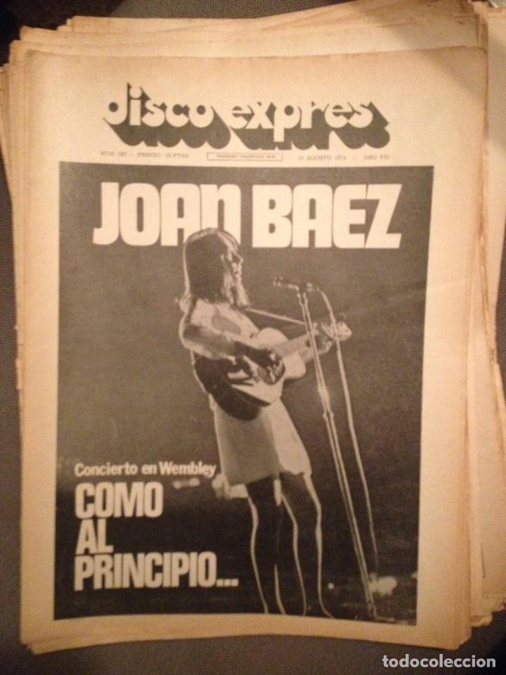 DISCO EXPRES 287: JOAN BAEZ, VAN MORRISON,ERIC CLAPTON,BEATLES,ANA Y JOHNNY,ALLMAN BROTHERS (Música - Revistas, Manuales y Cursos)