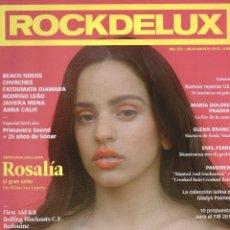 Revistas de música: ROCKDELUX N. 374 JULIO/AGOSTO 2018 - EN PORTADA: ROSALIA (NUEVA). Lote 184626701