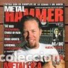 Riviste di musica: METAL HAMMER 183 - METALLICA . AC/DC . WHITESNAKE . MUDVAYNE . THE USED . CON POSTERS. Lote 207744678