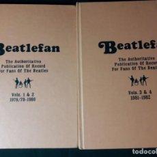 Revistas de música: BEATLEFAN VOLS. 1, 2, 3 Y 4. Lote 189206138