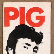 Revistas de música: PIG N° 12 (UK 1980). HISTÓRICO FANZINE INGLÉS; JOHN LENNON, THE BEACH BOYS, THE ROLLING STONES. Lote 175856414