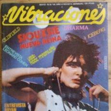 Revistas de música: REVISTA VIBRACIONES Nº 56 - MAYO 1979. Lote 190197907