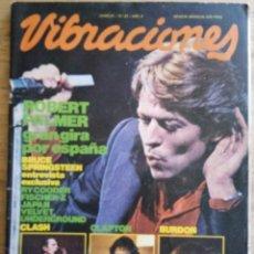 Revistas de música: REVISTA VIBRACIONES Nº 81 - JUNIO 1981. Lote 190198293