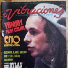 Revistas de música: REVISTA VIBRACIONES Nº 8 - MAYO 1975. Lote 190198570