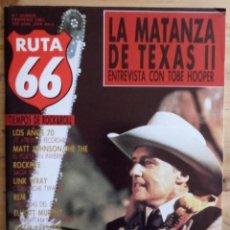 Revistas de música: REVISTA RUTA 66 - Nº 15 - FEBRERO 1987. Lote 190199403