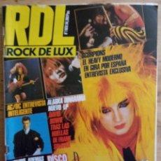 Revistas de música: REVISTA RDL ROCK DE LUX - Nº 1 NOVIEMBRE 1984 - INCLUYE POSTER BOWIE - SCORPIONS. Lote 190199841