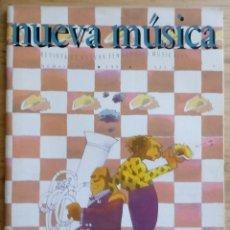 Revistas de música: REVISTA NUEVA MÚSICA Nº 12 - 1994 - NUEVAS TENDENCIAS MUSICALES. Lote 190200640