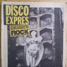 Revistas de música: REVISTA DISCO EXPRES - AFTER PUNK Nº 1 - ROCK ESPEZIAL. Lote 190201581