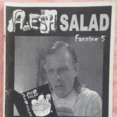 Revistas de música: FLESH SALAD 'ZINE #5 /// BLOODY ORFISMO HELLSPAWN ARGHURA ERA DEL METAL HELL AWAITS NECROMANCE DEATH. Lote 190275561