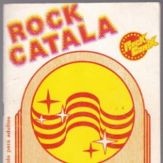 Revistas de música: REVISTA ROCK CATALÀ - 1976 - PAU RIBA - BATISTE BROS - SISA - CACHAS - SELENE. Lote 190703738