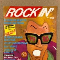 Revistas de música: ROCK IN' N° 2 (1985). DOSSIER SEX PILSTOLS, VELVET UNDERGROUND, BILLY BRAGG, ONLIYU, LOS SUAVES,... Lote 190818018