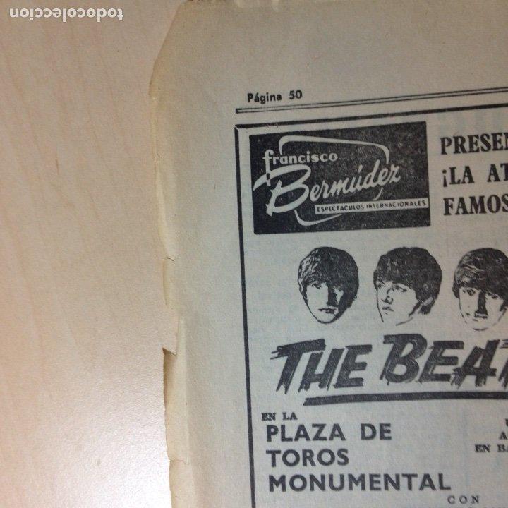 Revistas de música: Beatles Anuncio original La Vanguardia - Foto 2 - 191390003