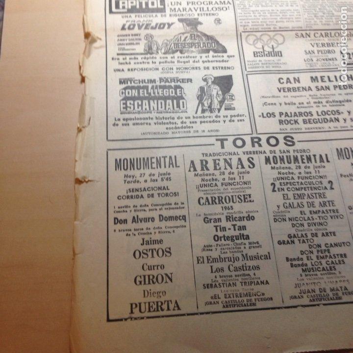 Revistas de música: Beatles Anuncio original La Vanguardia - Foto 7 - 191390003