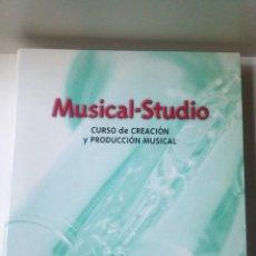 Revistas de música: MUSICAL STUDIO. CURSO DE CREACIÓN Y PRODUCCIÓN MUSICAL. CDS.. Lote 191467005