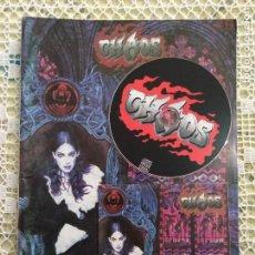 Riviste di musica: CHAOS MAGAZINE Nº9 1999 REVISTA EN INGLES - METAL EXTREMO - ARCH ENEMY - DEATH - CON CD. Lote 191960695