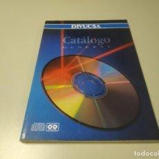 Riviste di musica: 0120- CATALOGO GENERAL DIVUCSA CD/MC 136 PAGINAS . Lote 192490938